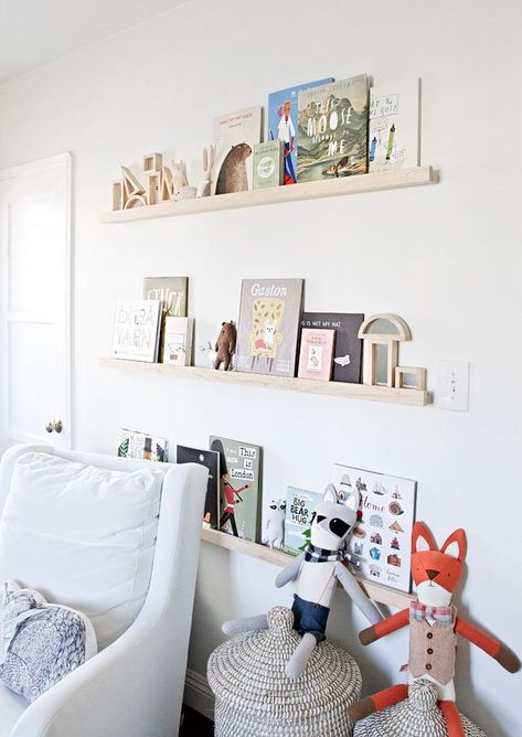 The Perfect White Diy Nursery Shelves Nurseries