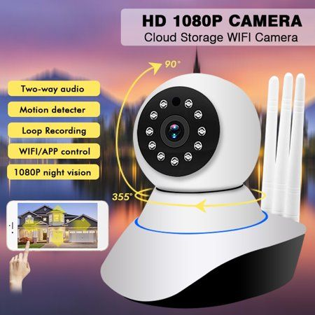 1080P WIFI Network Infrared Wireless IP Camera Night Vision Motion Detection Cam