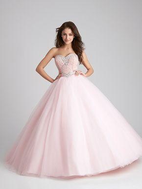 Vestido De 15 Años Rosa Pastel Tipo Princesa Alquiler De