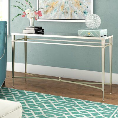 Robison Console Table Console Table Furniture Mirrored Furniture