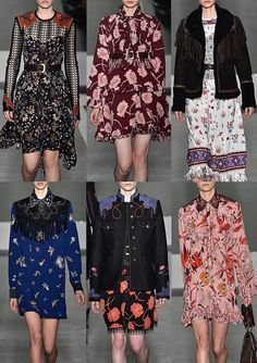 Fay_AW1617 - Cowgirl Accents – 70's Floral Prints – Fringed & Embroidered Yokes – Navaho Borders – Ditsy Print Shirtings – Posy Patterns – Folk Floral