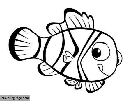 Finding Dory Nemo Coloring Page Printable Imagenes Infantiles