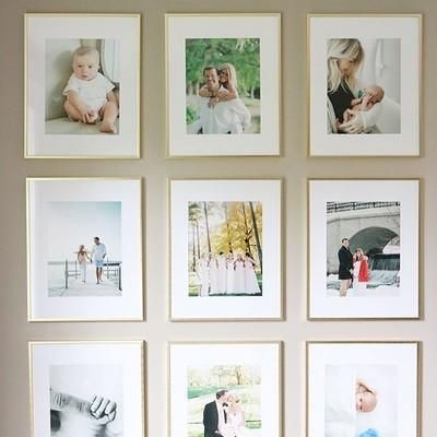 And I Didn T Have To Spend A Fortune Each Frame Print Was Roughly 35 Compared To 145 Using The Company Gallery Wall Nursery Gallery Wall Gallery Wall Decor