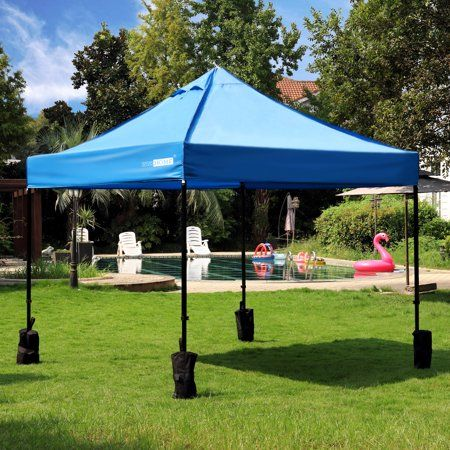 Vivohome 10X10 Ft Pop Up Canopy Tent Instant Beach Canopy
