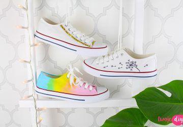 Jak Odmienic Trampki Diy Shoes Shoes Wedding Sneaker