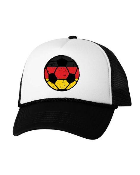 Germany Soccer Ball Trucker Hat German Hats Germany Soccer Snapback Hat  Germany 2018 Baseball Cap Gi 6d038179f55