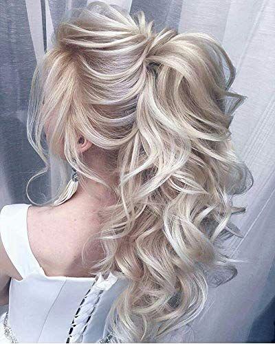 Best Seller Runature Ash Blonde Highlighted Blonde Ponytail