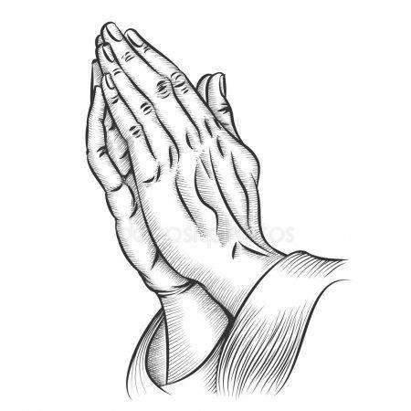 Praying Hands Vector Stock Vector Sponsored Hands Praying Vector Vector Ad Praying Hands Praying Hands Drawing Prayer Hands Tattoo