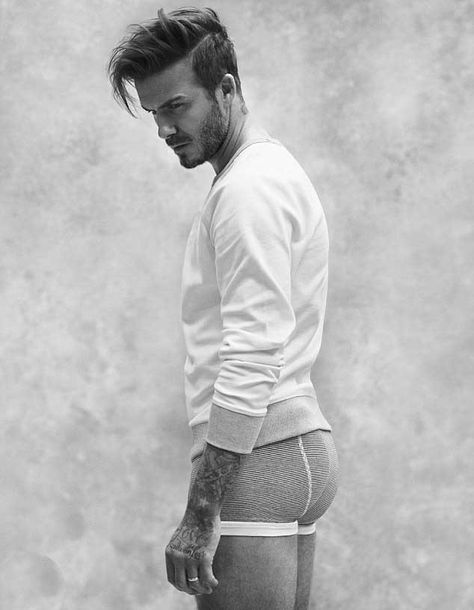 David Beckham is back with a new Bodywear collection for H&M. See all the pictures of David Beckham for H&M here