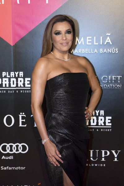 Eva Longoria attends the Global Gift Party Marbella.