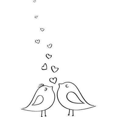 Resultado De Imagem Para Dibujos De Pajaritos Enamorados Pajaritos Enamorados Dibujos De Amor Dibujos De Pajaro