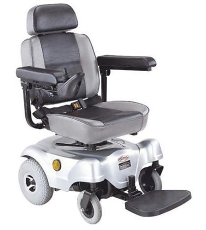 C T M Hs 1000 Rear Wheel Drive Compact Power Chair Powered