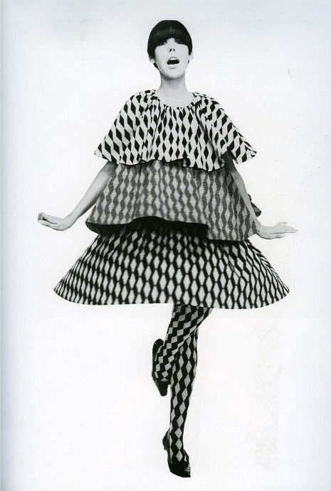 The marvelous and mod Peggy Moffitt.