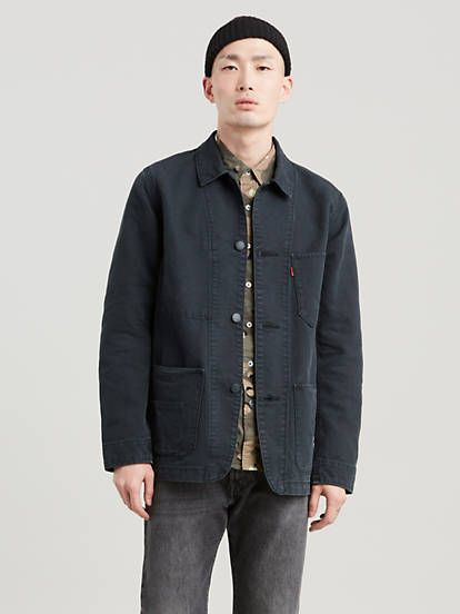 This utilitarian essential is inspired by a vintage workwear staple, the chore coat, known for its wear-over-anything fit. Buy at Levi's® US.