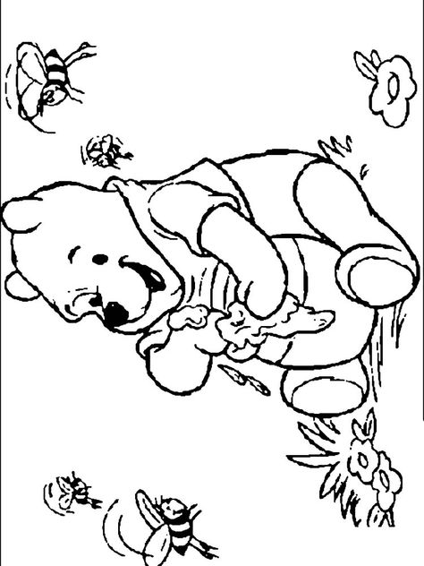 Winnie The Pooh Coloring Pages Printable Free Coloring Sheets In