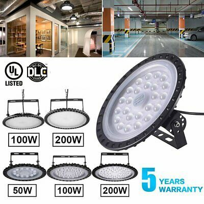 Sponsored Ebay Led High Bay Light 100w 150w 200w 300w 500w Factory Warehouse Commercial Light High Bay Lighting Bay Lights Factory Lighting