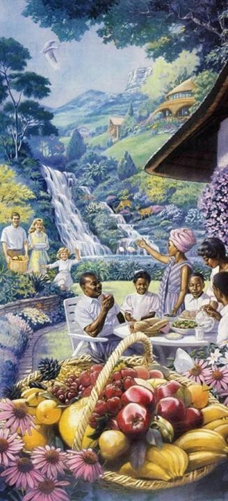 """Paradise - """"On the mountain tops there will be an overflow"""" of food. ༺♥༻ JW.org has the Bible in 300+ languages, ASL and other sign languages included. Also, jw.org has bible based study aids to read, watch, listen and download available. These aids are designed to be used with your bible. All of these are at no charge. ༺♥༻"""