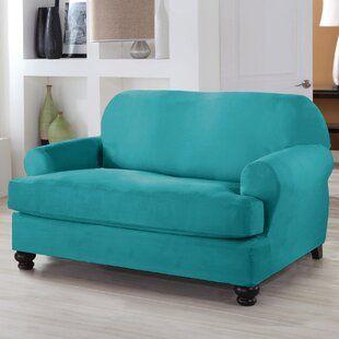August Grove Oxford Sofa Slipcover Wayfair Furniture Covers Slipcovers Armchair Slipcover Loveseat Slipcovers