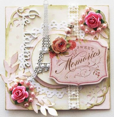DIY..Shabby Paris card