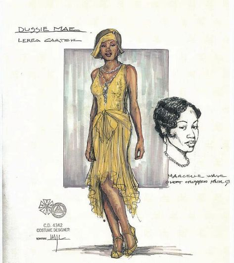 Ma Rainey's Black Bottom (Dussie Mae). Arizona Theatre Company. Costume design by Matthew J. LeFebvre. 2010