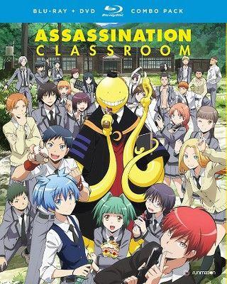 Assassination Classroom Season 1 Part 1 Blu Ray 2016 In 2021 Assassination Classroom Classroom Memes Assasination Classroom