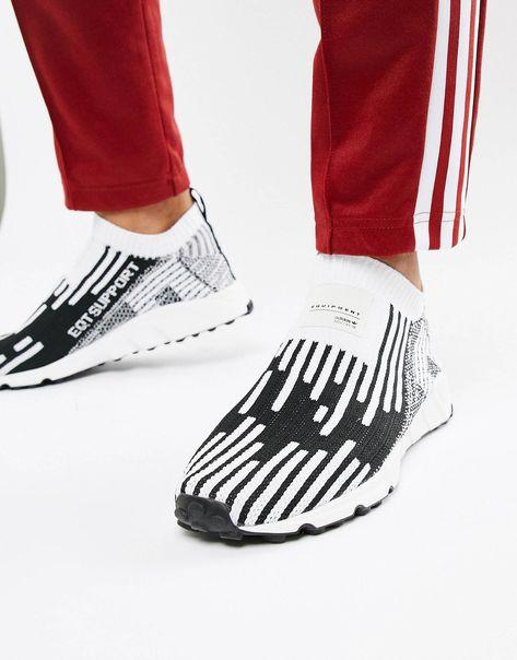 wholesale dealer ff425 138ac adidas Originals EQT Support PK Sneakers In Black B37524