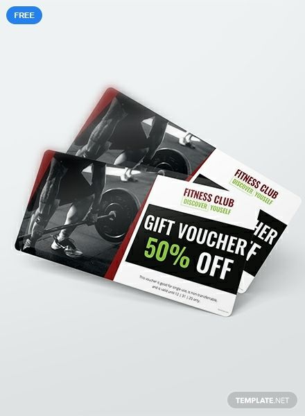 Gym Discount Voucher Template Free Pdf Word Psd Apple Pages Illustrator Publisher Voucher Design Voucher Voucher Template Free