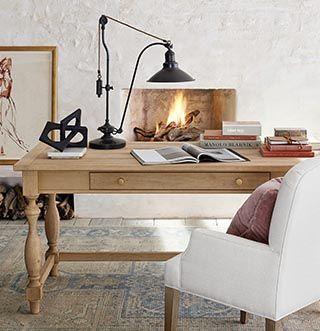 Home Office Ideas Inspiration Furniture Decor Pottery Barn