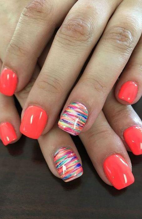 20 Cute Summer Nail Designs For 2020 Cute Nail Colors Nail