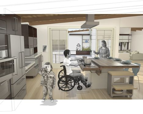 Wounded Warrior project houses for war veterans Casas para