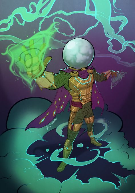 Mysterio Fanart Tumblr Marvel Super Heroi