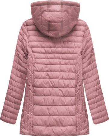 Pikowana Kurtka Z Kapturem Rozowa Xw262bigx Winter Jackets Jackets Fashion