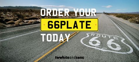 Order your #66plate #Mazda #Hyundai or #Suzuki today! http://blog.twwhiteandsons.co.uk/tw-white-news/66-registration-plate/?utm_source=pintrest&utm_medium=social&utm_campaign=blog&utm_content=66plate