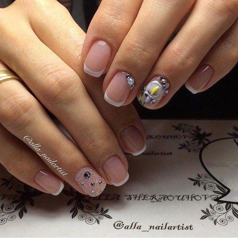 Nail Designs Gel Nails French Nails Manicure And Pedicure Mani Pedi Nail Salons Solar Nails Natural Nails Supe Gel Nails French Acrylic Nail Salon Lily Nails