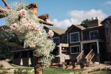 Simple yet chic wedding flowers to dress up our lakeside ceremony archway | Photo: Jim Lee Vision | Flowers: Buds of Brooklyn #RockIslandLakeClub #lakesidewedding #njwedding #njweddingvenue #njweddings #njweddingvenues #weddingceremony #njbride #archway #ceremonyarchway #weddingflowers #weddingdecor #weddinginspo #weddingvenue #naturewedding #natureweddings #rusticwedding #rusticweddingdecor #rusticchic #elegantwedding #bridetobe #lakewedding #outdoorwedding #realwedding #weddingideas #decor