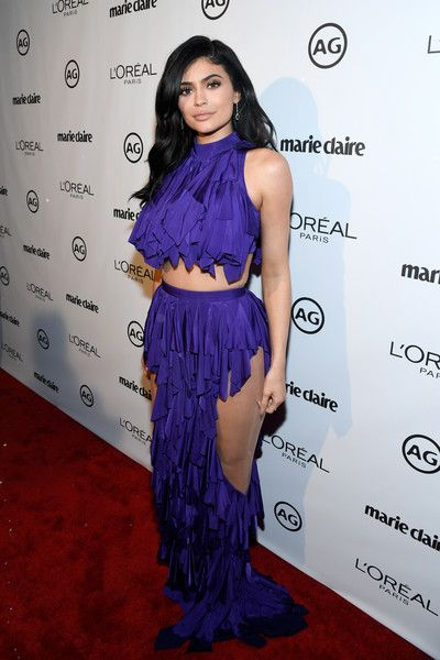 Kylie Jenner in Balmain at Marie Clarie's Image Maker Awards - The Biggest Red Carpet Risk-Takers of 2017 - Photos