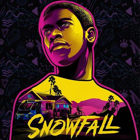 Franklin Saint.#snowfall #snowfallfx #franklin #fxchannel #ilovedust #illustration