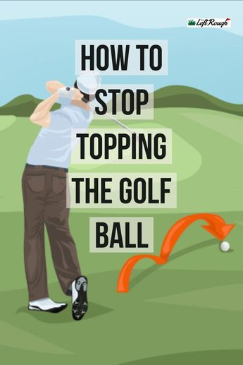 Nothing is more frustrating as topping the golf ball. Here's some tips to overcome it. golf How to Stop Topping the Golf Ball Golf Sport, Golf 7, Play Golf, Disc Golf, Abby Wambach, Aaron Rodgers, Alex Morgan, Alabama Football, College Football