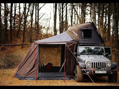 Ingenious Car Inventions Jeep Camping, Jeep Wrangler Camping, Jeep Wrangler Unlimited, Camping Life, Jeep Wrangler Yj, Camping Hammock, Camping Glamping, Auto Jeep, Jeep Wrangler Accessories