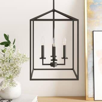 Benny Light Lantern Geometric Chandelier | Geometric