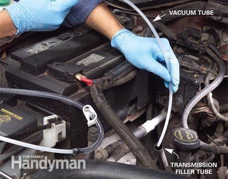 Change Your Car S Transmission Fluid Auto Repair Car Repair Diy Truck Repair