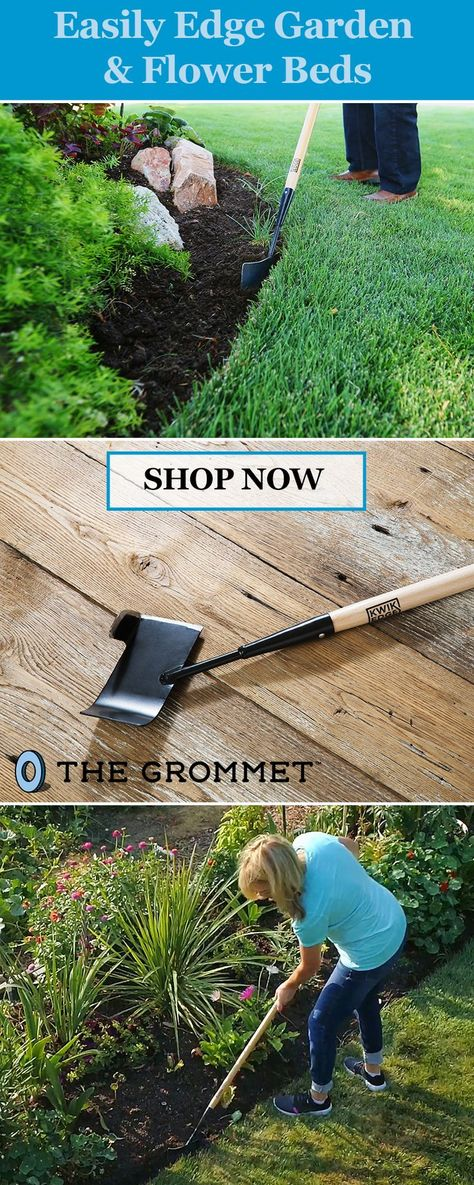 Maintain Garden Edges With A Manual Lawn Edger This Tool Makes It