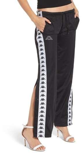 ed7f9f33 Kappa Banda Astoria Side Snap Track Pants | Products | Pants ...