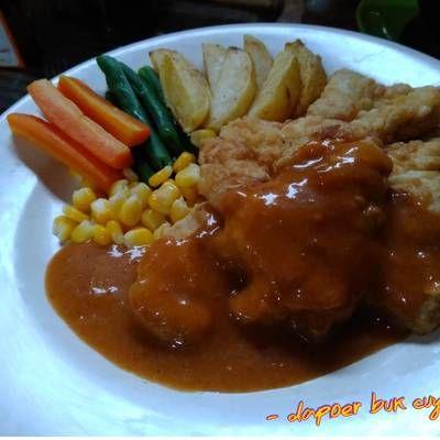 Steak Ayam Crispy Resep Steak Masakan