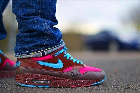 "new style 49d61 dfdf8 Nike Air Max 1 x Patta x Parra ""Amsterdam"" #Sneakers"