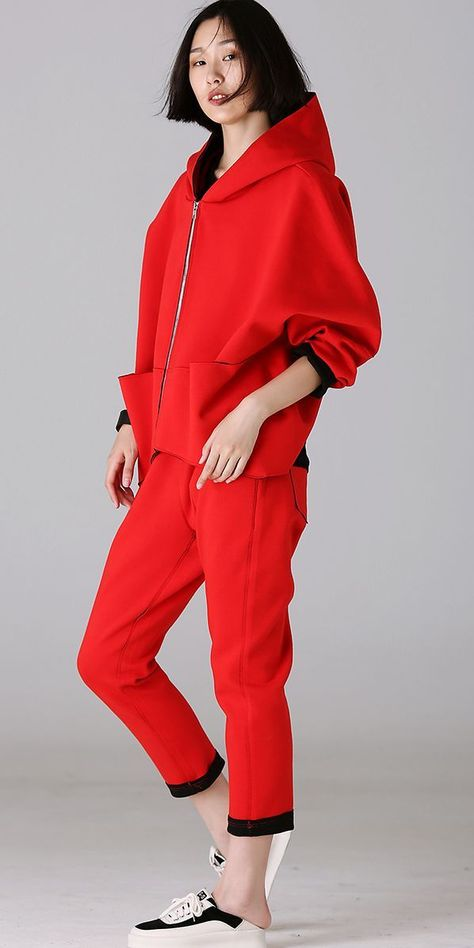 Plus Size Hoodie Cotton Coat Women Jacket For Autumn W1855