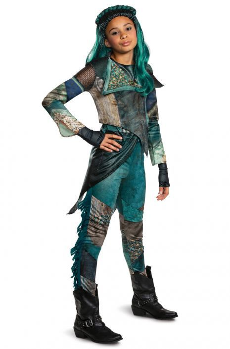 Descendants 3 Uma Deluxe Child Costume Tween Costumes Deluxe Halloween Costumes Fairy Costume For Girl