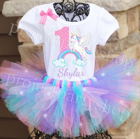 Unicorn Birthday Tutu Outfit, Unicorn Birthday Outfit, Unicorn Birthday Party, Unicorn Birthday Shir