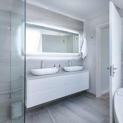 Dyconn Faucet Royal Bathroom/Vanity Mirror Size: 38