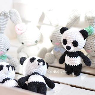 Panda Amigurumi Crochet Tutorial Part 2 - YouTube | 320x320